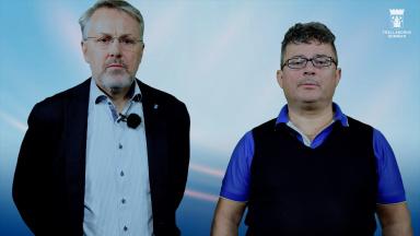 Fredrik Geijer och Mikael Rubin