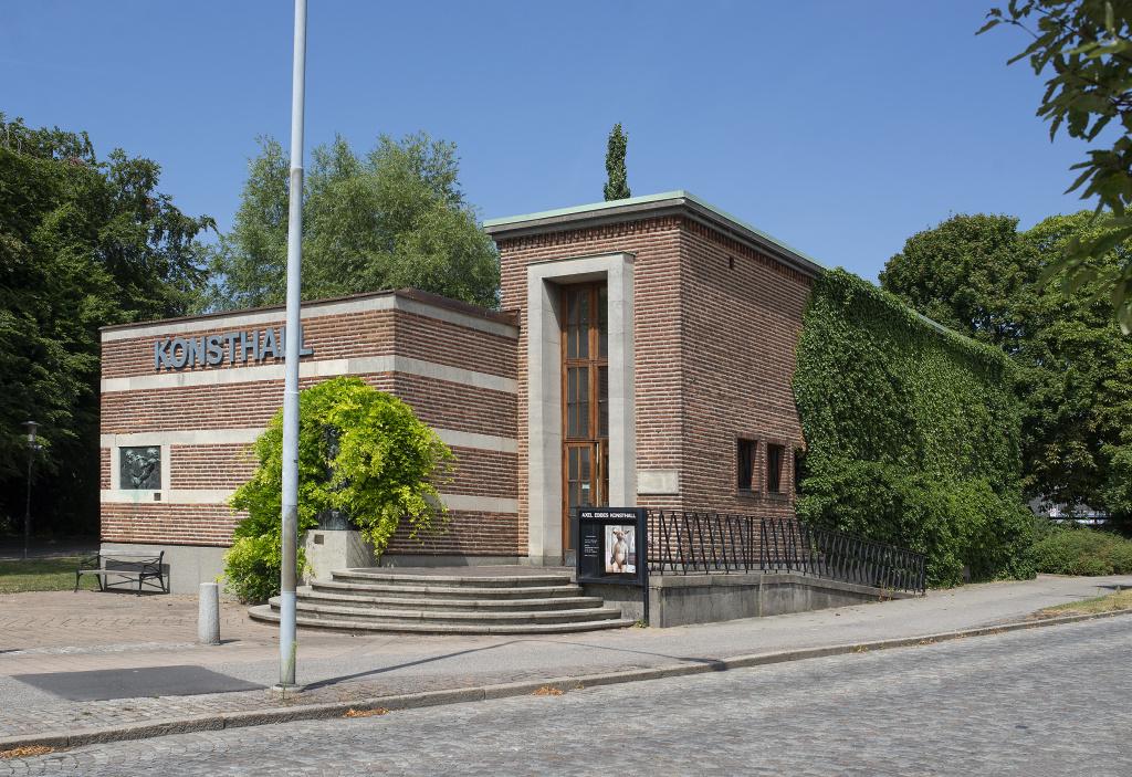 Axel Ebbes konsthall på Hesekillegatan i Trelleborg