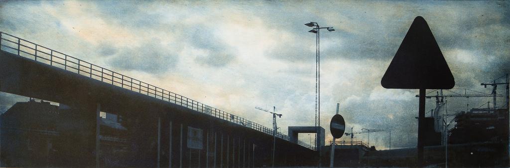 Grafiktriennalen, verk av Anne-Lie Larsson Ljung.