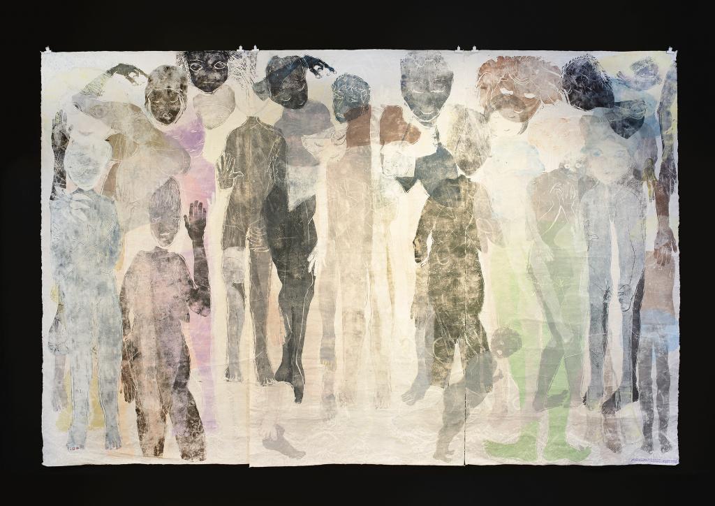 Grafiktriennalen, verk av Magdalena M Kjartansdottir.