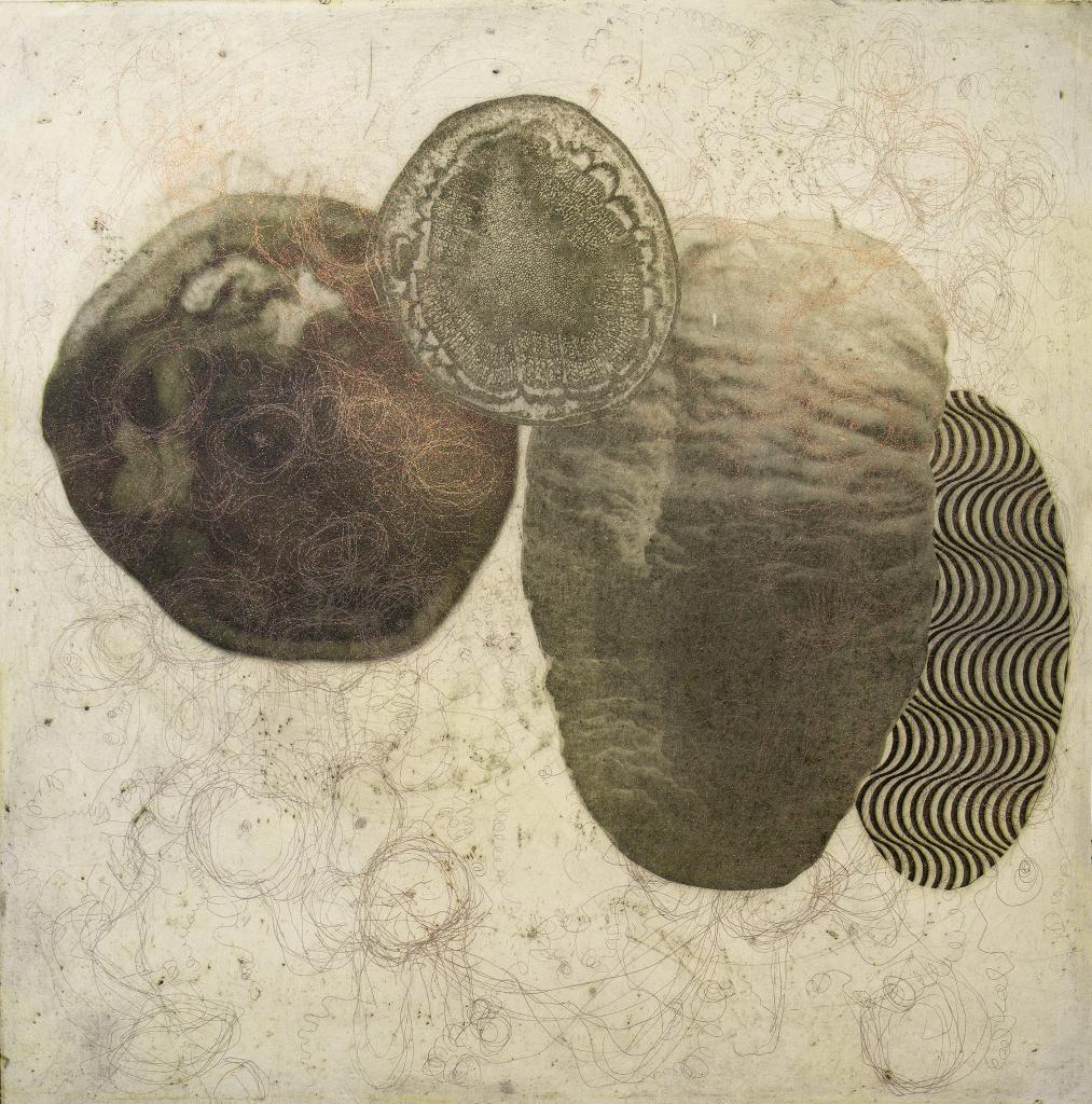 Grafiktriennalen, verk av Vappu Johansso