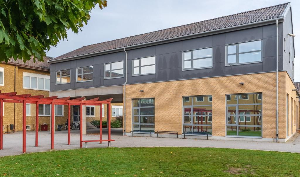 Liljeborgsskolan är en 4-9 skola som ligger i centrala Trelleborg