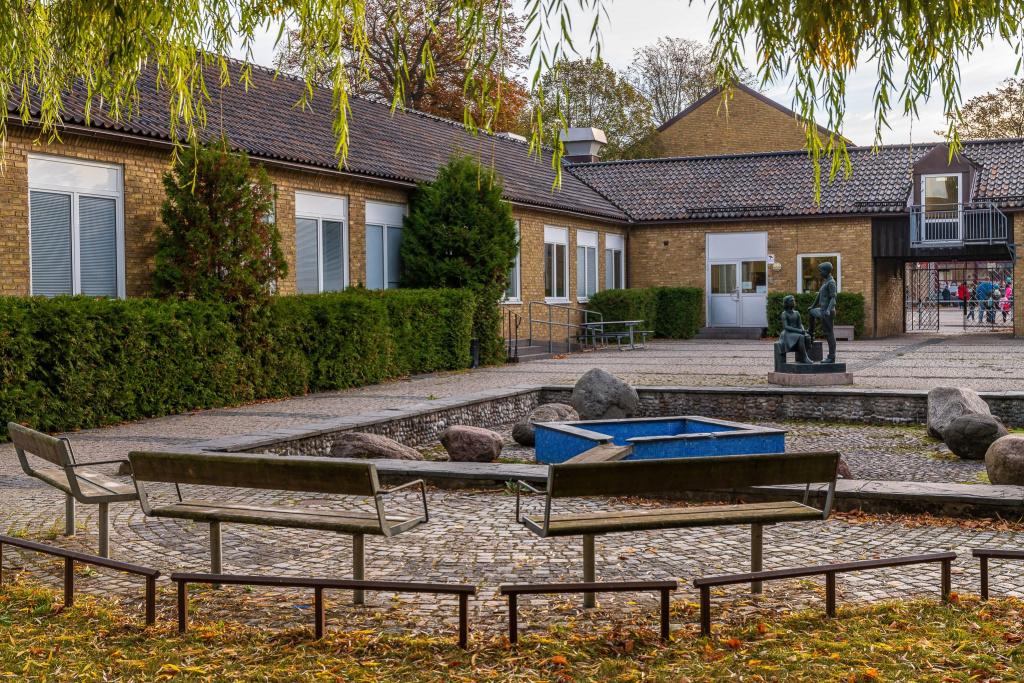 Liljeborgsskolans ursprungliga byggnad.