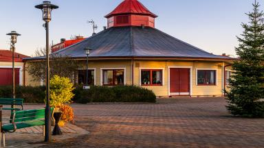 Parken är ett flexibelt hus i med påtaglig puls och värme beläget ett stenkast från Trelleborgs centrums mittpunkt.