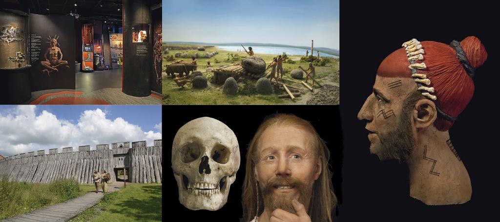 Utställningen Öga mot öga på Trelleborgs museum, och Trelleborgen.