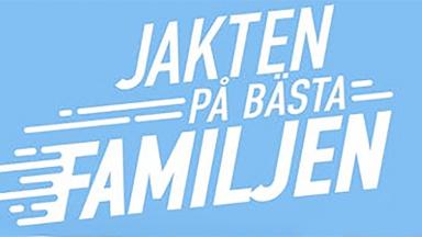 logotype jakten på bästafamiljen