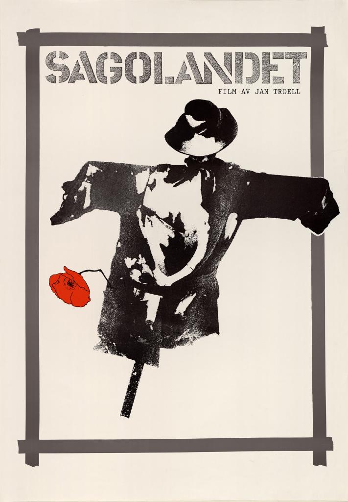 Affisch Sagolandet