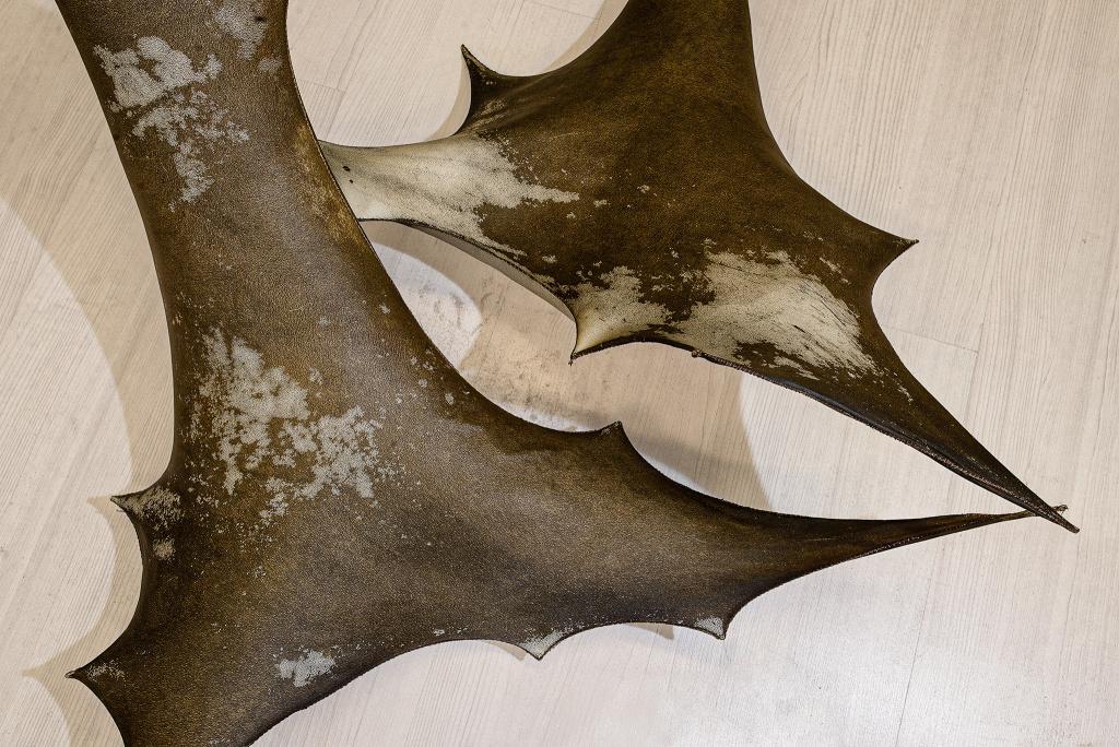 Thale Vangens utställning Shadow Tools på Trelleborgs Museum.