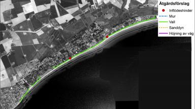 kustskydd beddingestrand översiktsbild