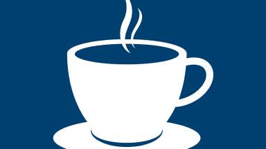 illustrerad kaffekopp