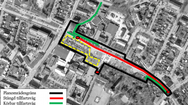 karta parkering och biltrafik övre höst 20
