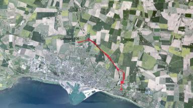 Planområde östra ringvägen