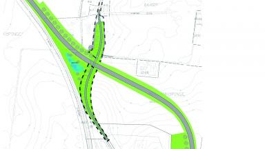 Planområde detaljplan Mellanköpingevägen